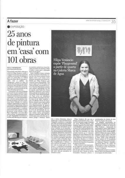 """25 anos de pintura em """"casa"""" com 101 obras. DN"""